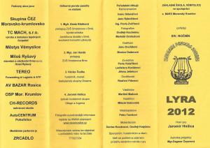 informační leták 2012-1