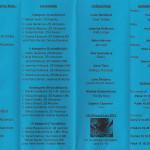 informační leták 2013-2